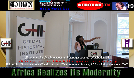 Black German Cultural Convention Speech Adetoun Kueppers-Adebisi Identity African Diaspora Germany AFROTAK TV cyberNomads On The Road Reports African Diaspora The Black German Knowledge Archive Media Culture Education Network